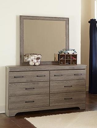 Kith Furniture Jourdan Creek Dresser & Mirror - Item Number: KITH-GRP-OT-232-DRM