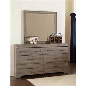 Kith Furniture Jourdan Creek Dresser & Mirror