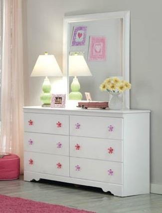 Kith Furniture Savannah Dresser & Mirror - Item Number: KITH-GRP-OT-269-DRM