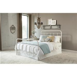 Kith Furniture 899 White Queen Metal Bed