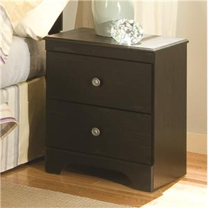 Kith Furniture Allen 2 Drawer Night Stand