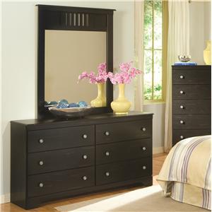 Kith Furniture Allen Dresser & Mirror Set