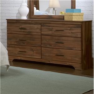 Kith Furniture Livingston 6 Drawer Dresser