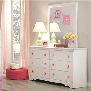 Kith Furniture Savannah Dresser and Mirror