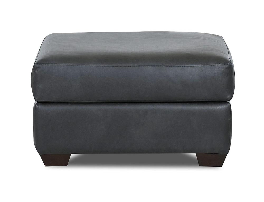 Simple Elegance Cascade Transitional Ottoman - Item Number: L50200 OTTO