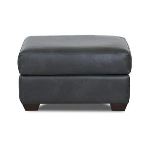 Simple Elegance Cascade Transitional Ottoman