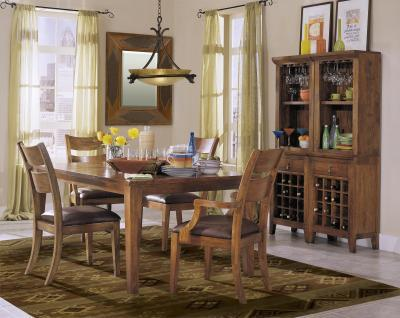 Morris Home Furnishings Tuscon Tuscon 5 Piece Dining Set - Item Number: 340-096/901(4)