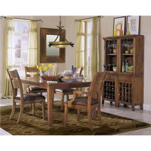 Morris Home Furnishings Tuscon Tuscon 5 Piece Dining Set