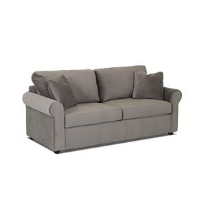 Metropia Brighton Queen Sleeper Sofa with Memory Foam Mattress