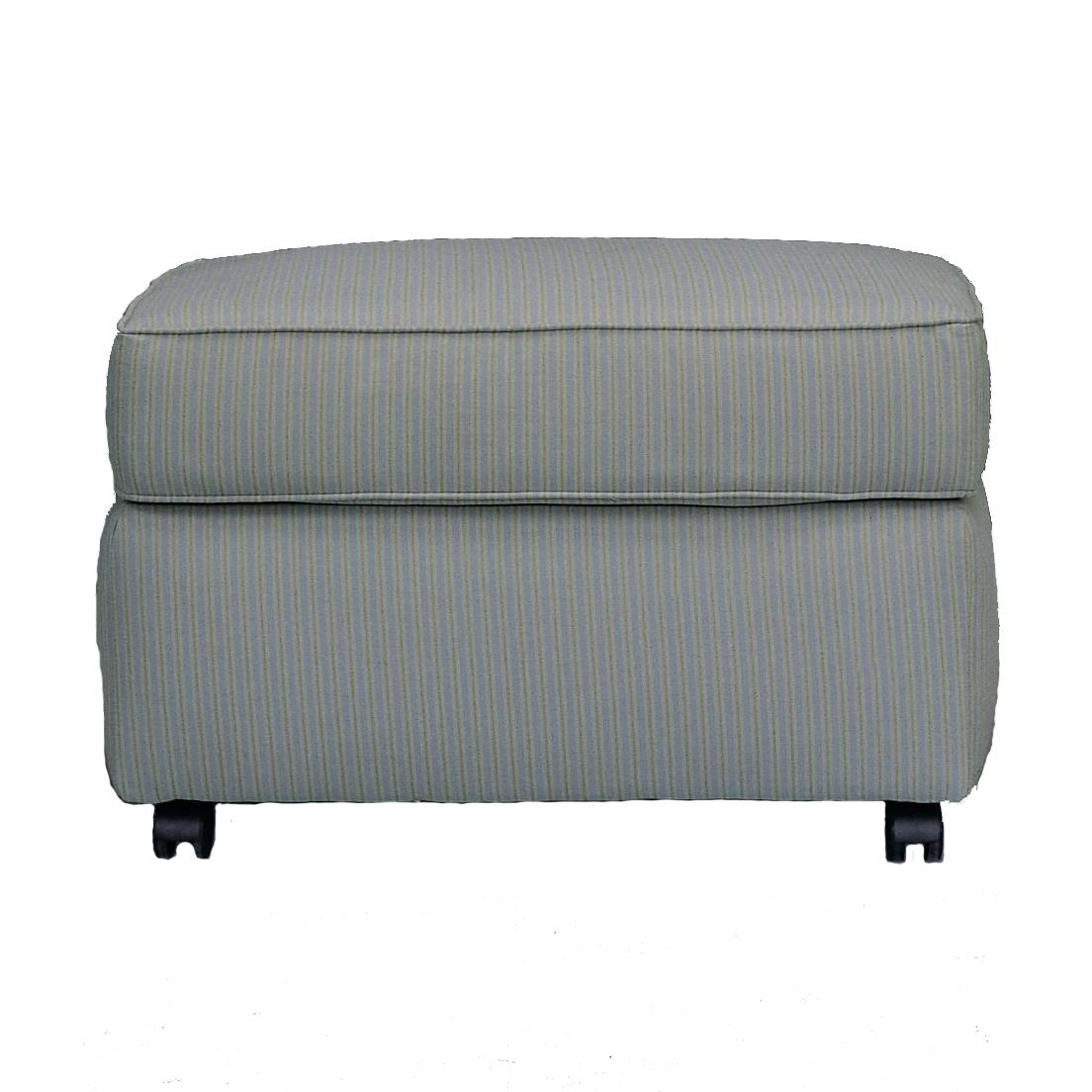 Brighton Ottoman by Klaussner at Stuckey Furniture