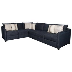 Elliston Place Holden Holden 2-Piece Power Hybrid Sectional
