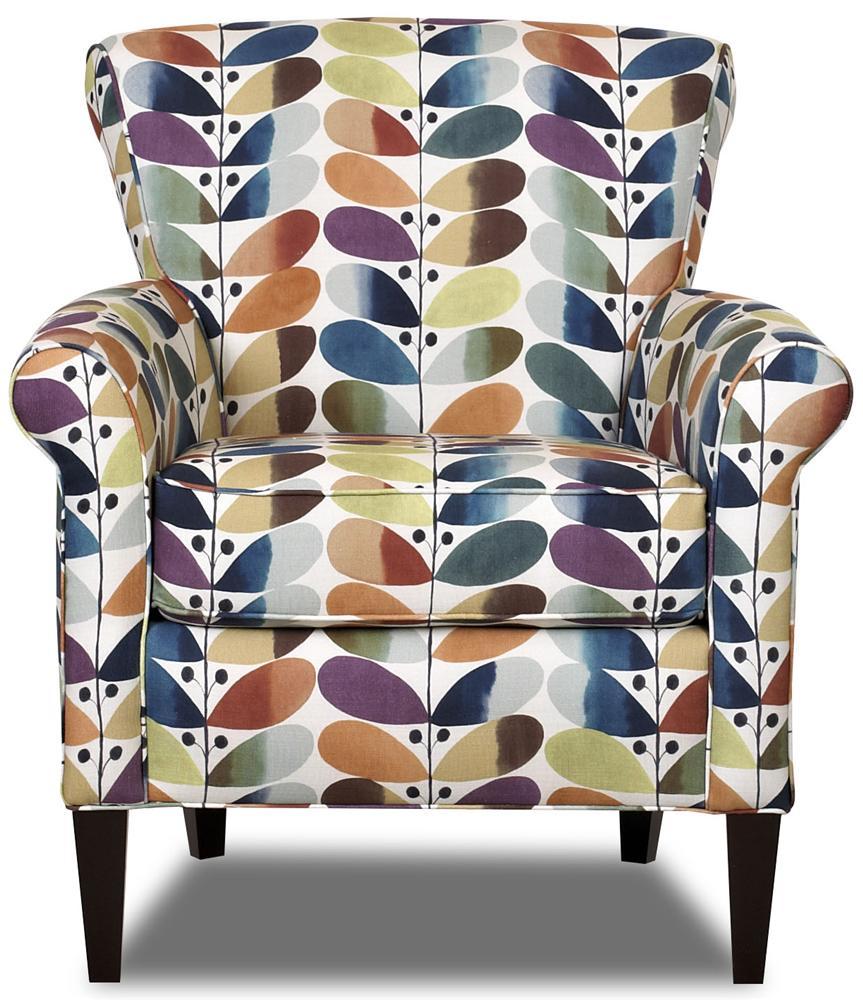 Belfort Basics Louise Upholstered Chair - Item Number: 1490C