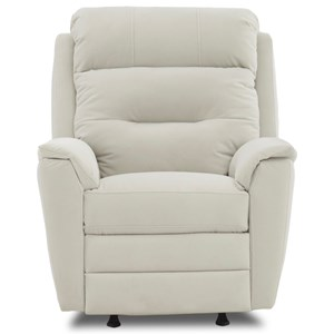Klaussner Nola Power Rocking Recliner with Power Headrest