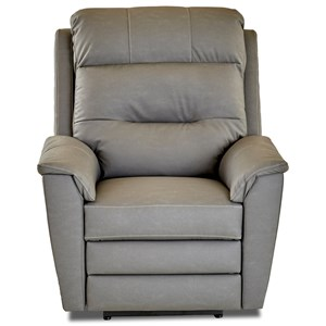 Klaussner Nola Pwr Rocking Recliner w/ Pwr Head and Lumbar