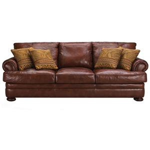 Klaussner Montezuma Leather Sofa