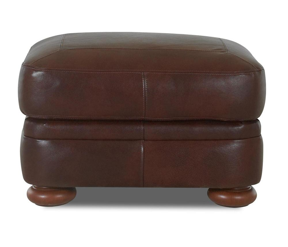 Montezuma Ottoman by Klaussner at Lapeer Furniture & Mattress Center