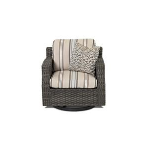 Elliston Place Tampa Tampa Outdoor Swivel Chair