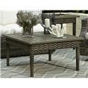 Elliston Place Tampa Tampa Outdoor Coffee Table - Item Number: 641238276