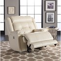 Klaussner McCall Casual Power Recliner with Power Headrest and USB Port