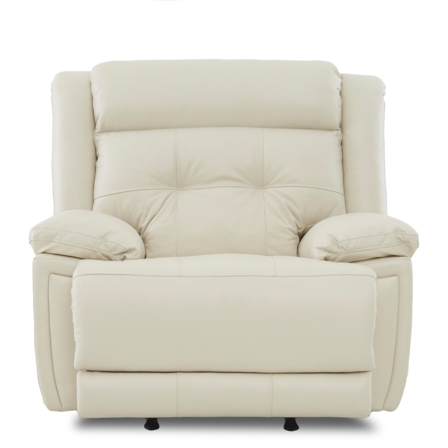 Klaussner McCall Power Rocking Recliner with Power Headrest - Item Number: LV62503-6 PWRRC- Durango Oatmeal