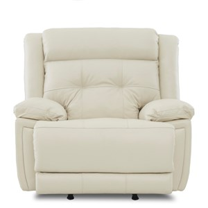 Klaussner McCall Power Rocking Recliner with Power Headrest