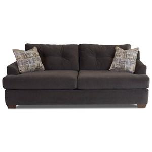 Klaussner Newport Contemporary Sofa