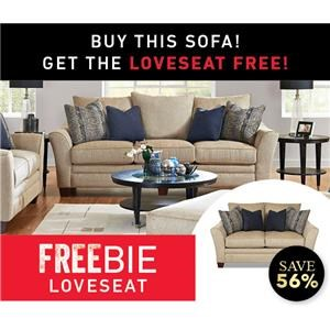 Felicity Sofa with Freebie Loveseat