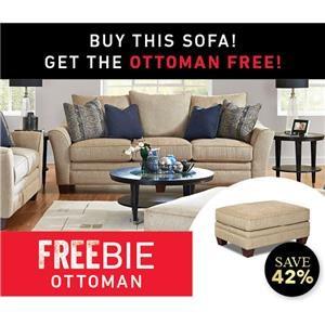 Felicity Sofa with Freebie Ottoman