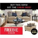Elliston Place Felicity Felicity Sofa with Freebie Chair - Item Number: 979419529