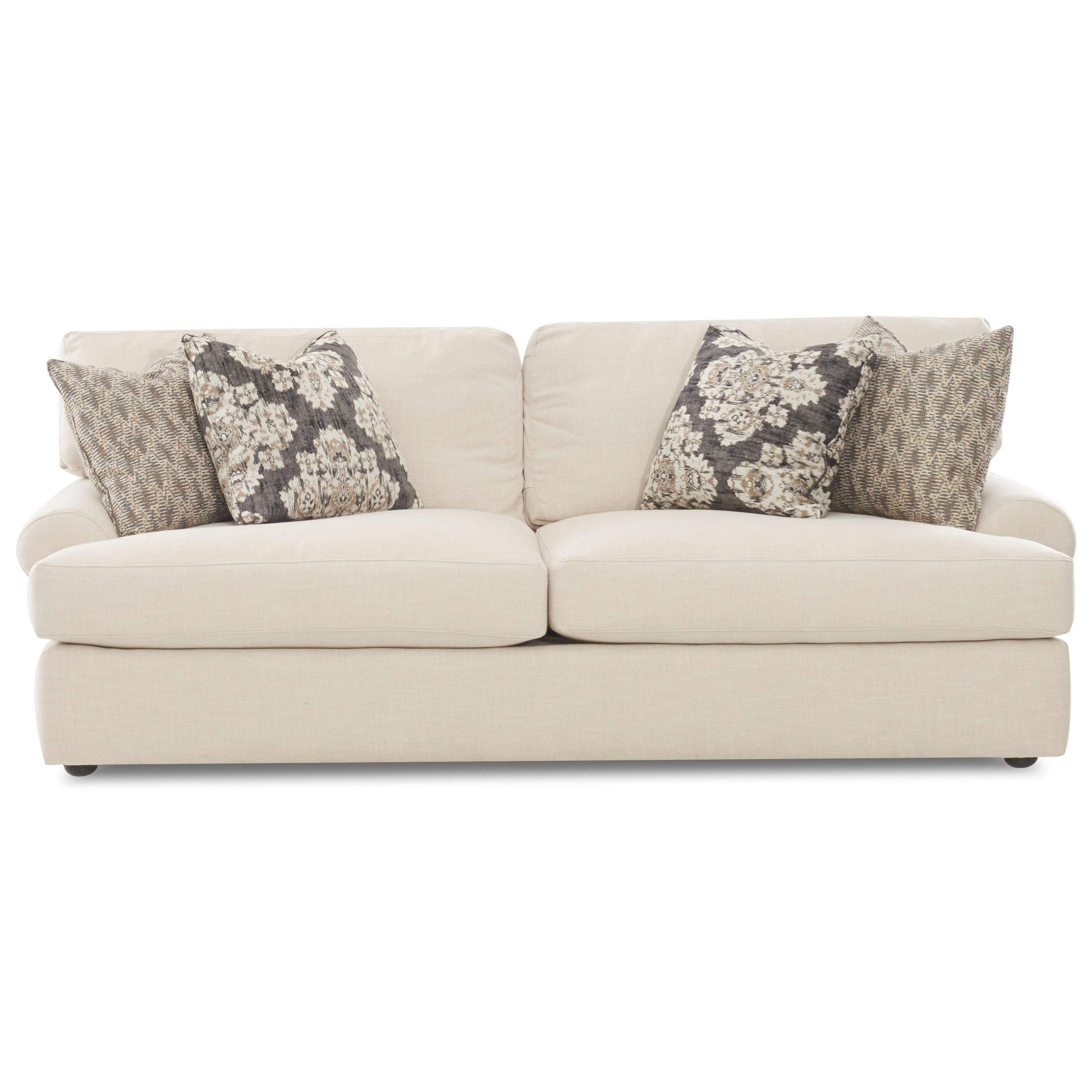 Sofa w/ 4 Pillows
