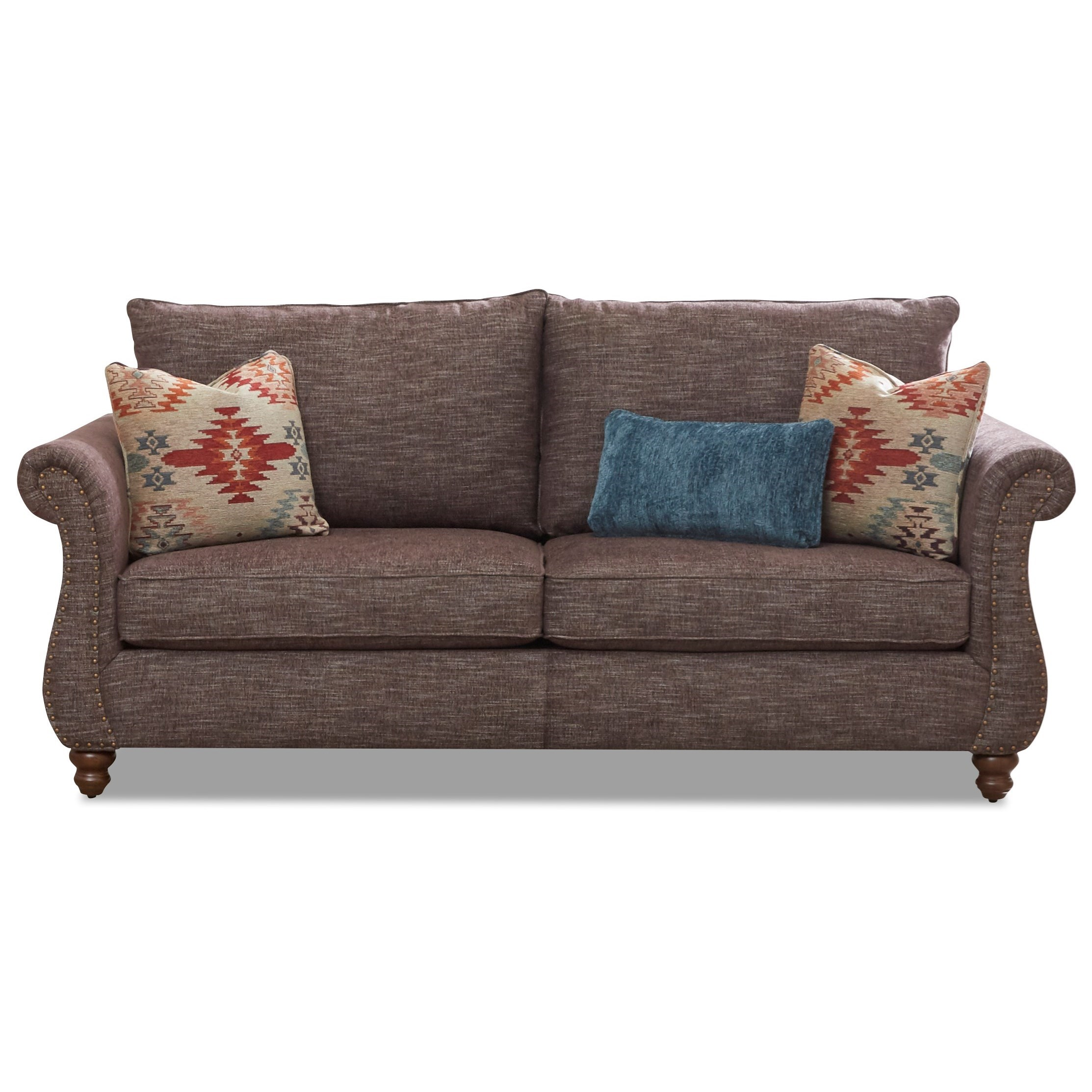 Sofa with Nailhead Trim & Kool Gel Cushions