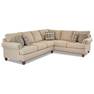 2 Pc Sectional Sofa w/ LAF Sofa