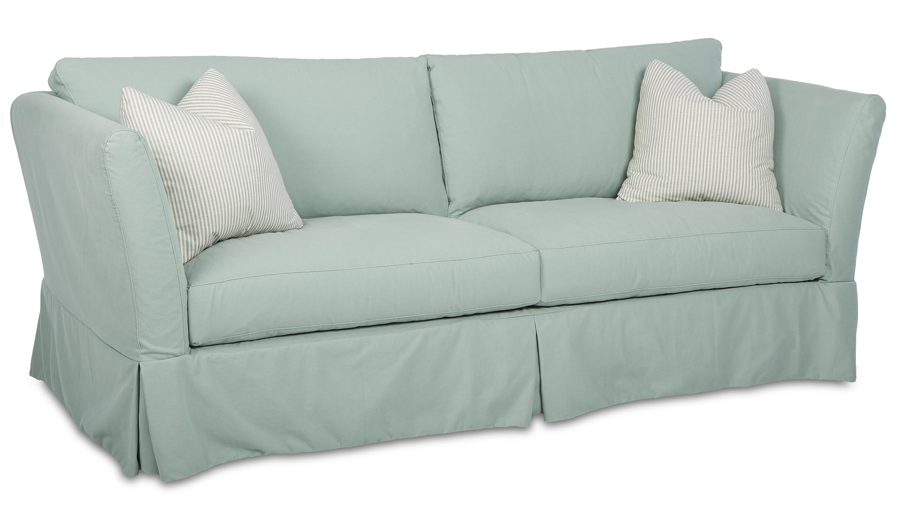 Alexis Traditional Stationary Sofa With Slipcover By