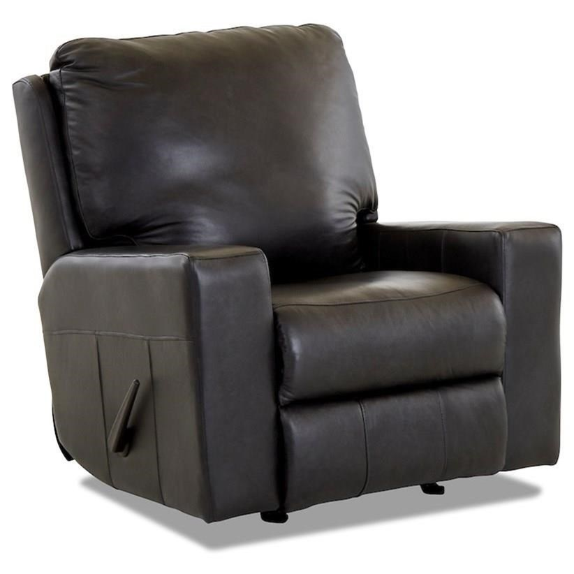 Alliser Power Rocking Recl. Chair w/ Pwr Hdrst & XMS by Klaussner at Lapeer Furniture & Mattress Center