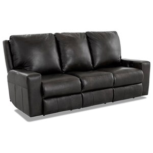 Power Reclining Sofa w/ Pwr Headrests & XMS