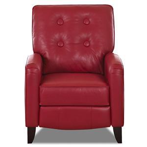 Klaussner Allison High Leg Reclining Chair