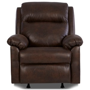 Klaussner Amari Power Rock Recliner w/ Pwr Head &Lumbar