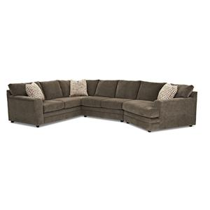 Klaussner Ashburn Sectional Sofa