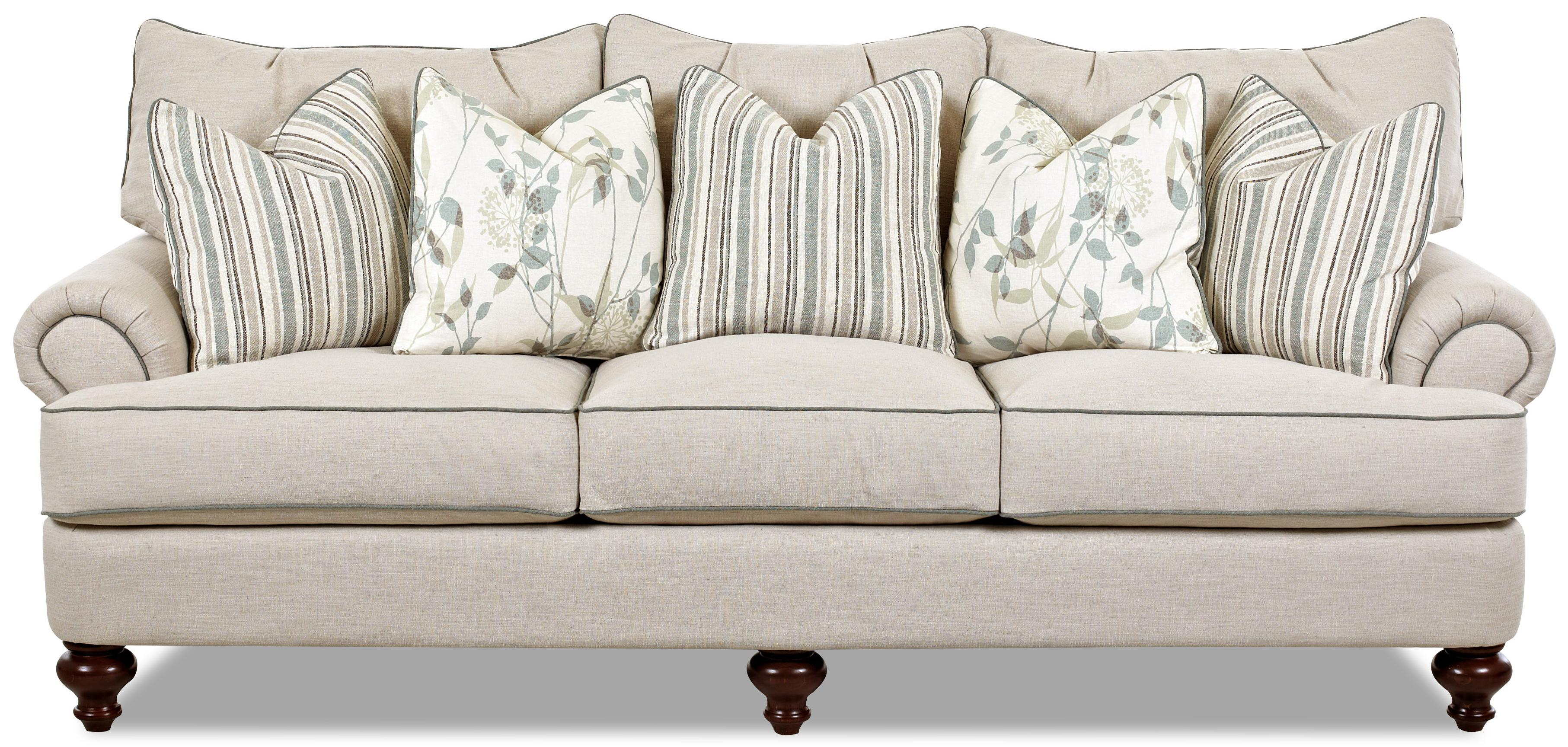 Shabby Chic Down Blend Sofa
