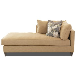 1 Arm Left Facing Chaise Lounge