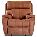Klaussner Averett Power Rocking Reclining Chair - Item Number: 43943 PWRRC-DAVY AMBE