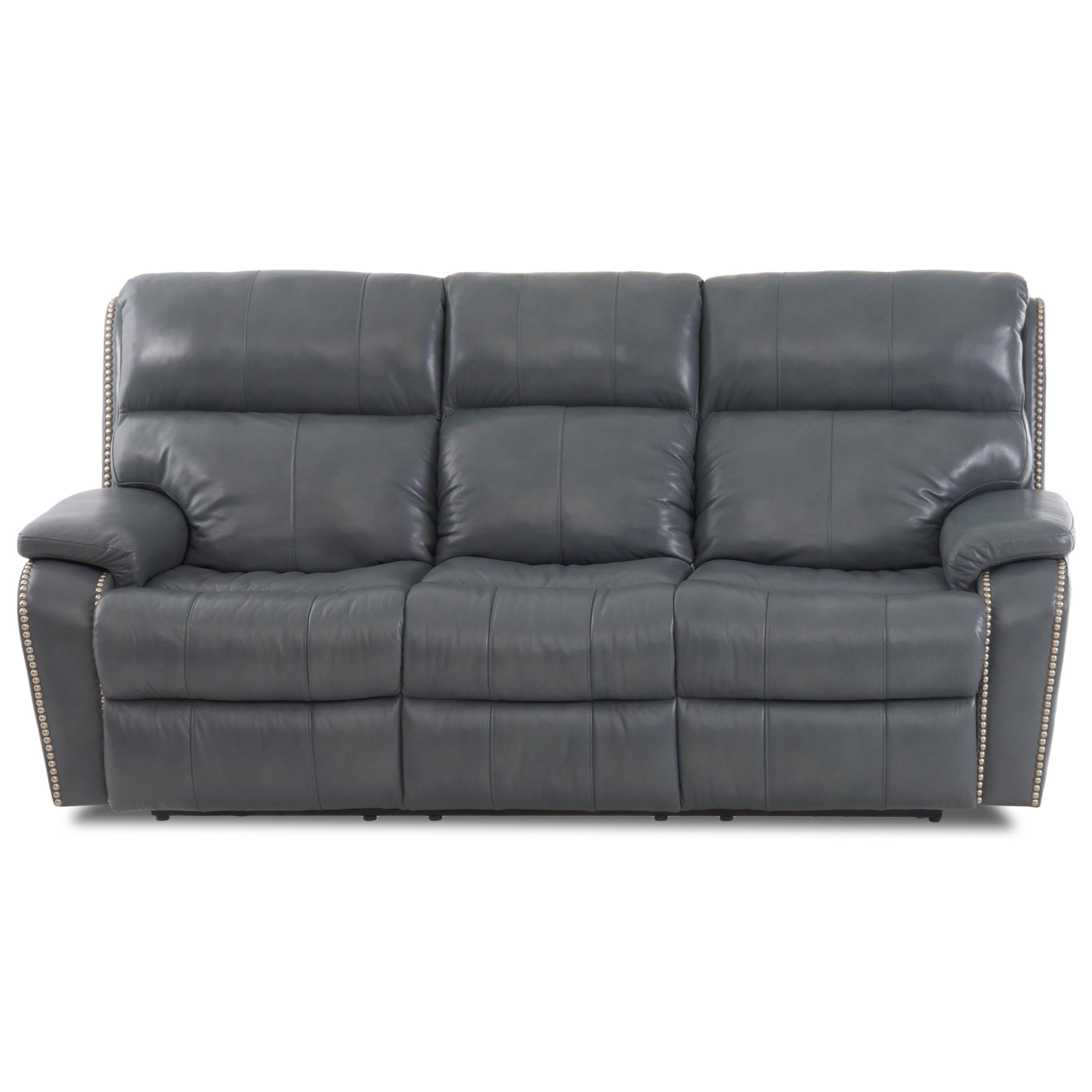 Power Reclining Sofa w/ Nails
