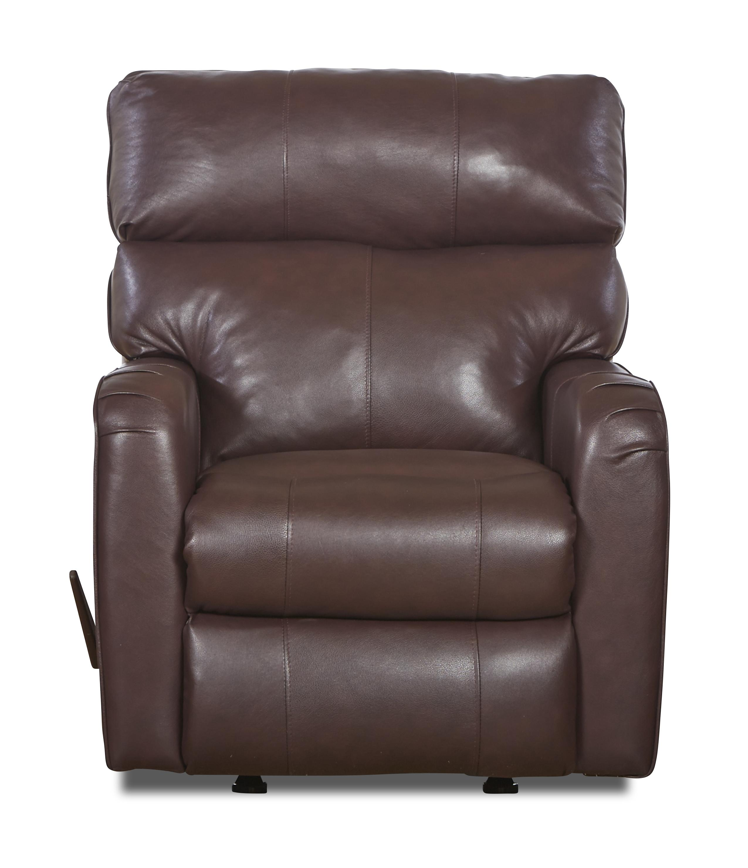 Klaussner Axis 25803 Transitional Swivel Rocking Reclining Chair - Item Number: LV25803H SRRC