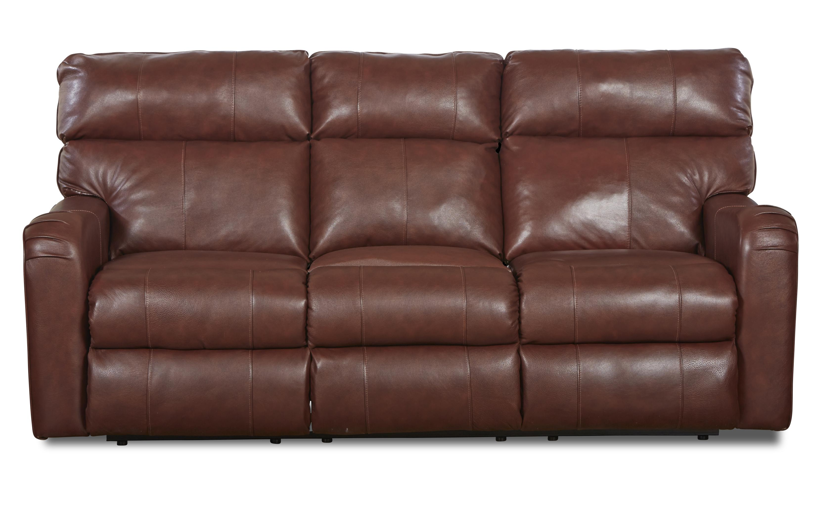 Klaussner Axis 25803 Transitional Reclining Sofa - Item Number: LV25803 RS