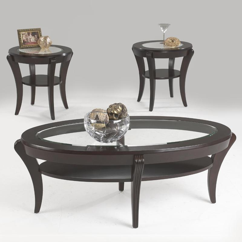 Klaussner International Bandero Oval Cocktail Table Darvin Furniture Cocktail Coffee Tables