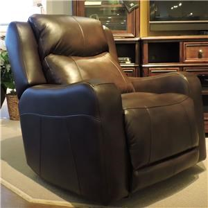 Belfort Basics Maddox Pwr Rocking Recliner w/ Pwr Head and Lumbar
