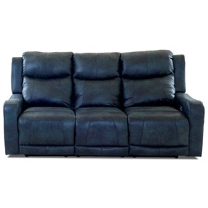 Power Reclining Sofa w/ Pwr Headr and Lumbar