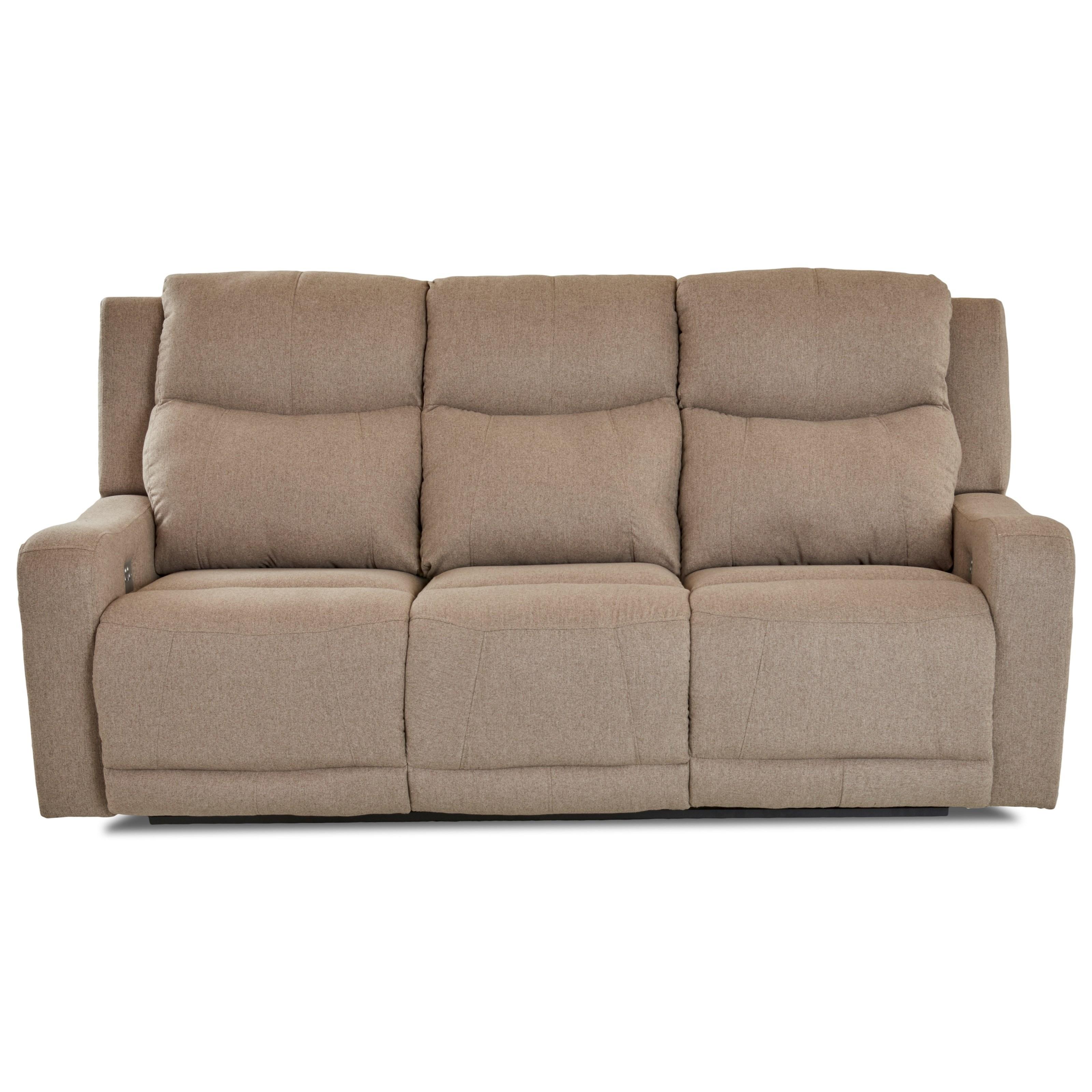 Power Reclining Sofa w/ Pwr Headr and Lumbar
