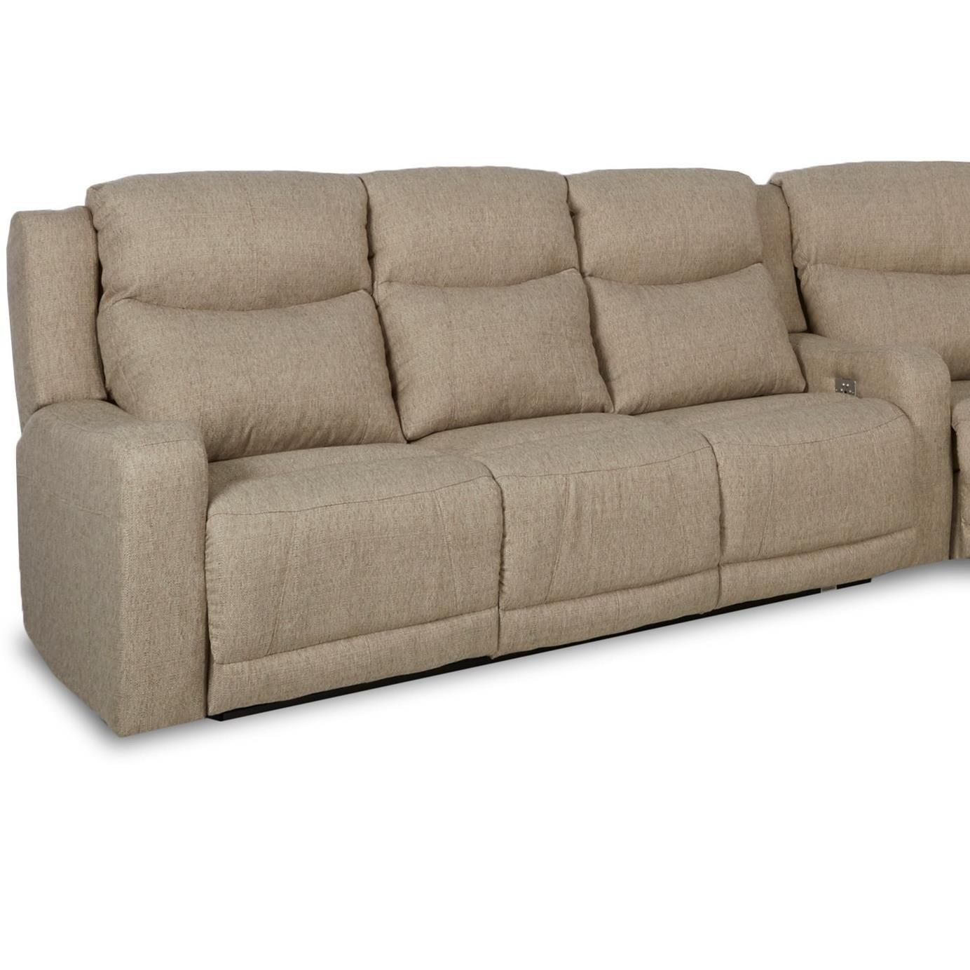 Klaussner Barnett Power Reclining Sofa With Power