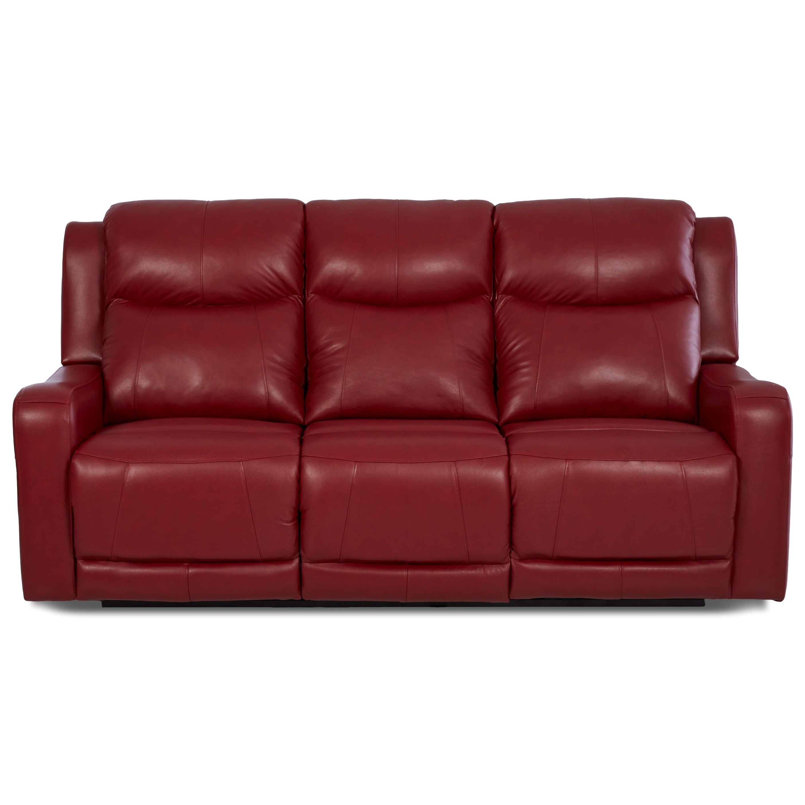Klaussner barnett lv74803 6 pwrs power reclining sofa with Power reclining sofas and loveseats